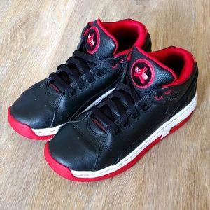Nike Air Jordan Ol' School Low Top Black/Red Shoes